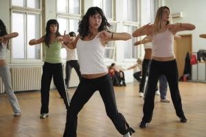 jeunes au cours de danse